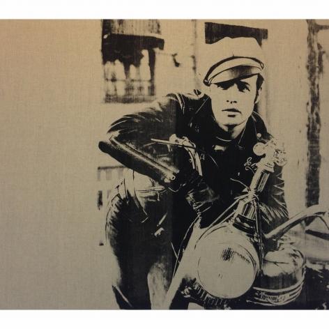 Charles Lutz - Andy Warhol - denied- painting - contemporary art - marlon brando