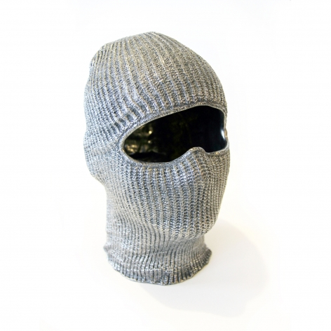 Charles Lutz - Contemporary Art - mask - robbery - Sculpture