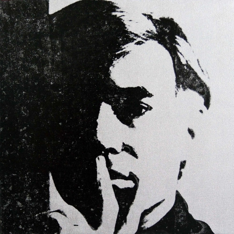 Charles Lutz - Andy Warhol - denied- painting - contemporary art