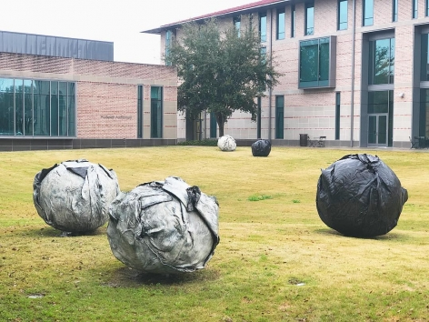 "ALT=""Joseph Havel, Installation view, 2015, Rice University"""