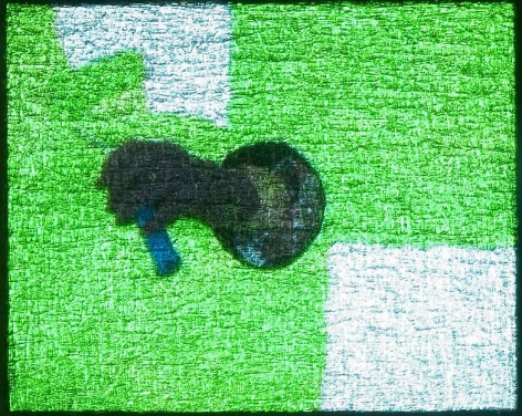 , Untitled/Green Roller, 2004