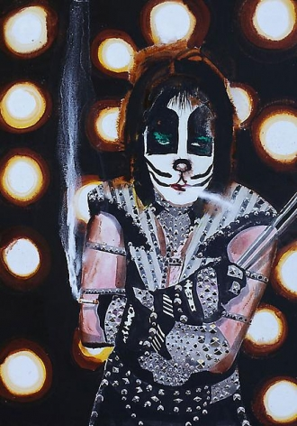 , Drummer (Peter Criss) II, 2009