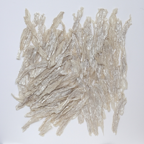 "ALT=""Rosana Castrillo Diaz, Untitled, 2014, Paper and iridescent medium on paper"""