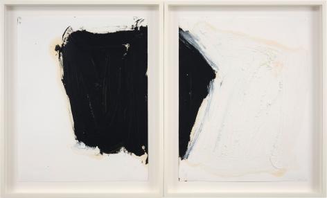 "ALT=""Joseph Havel, Collaborative 1, 2020, Oil stick on paper"""