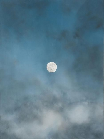 """ALT=""""Rob Reynolds, Untitled (The Moon), 2012, Oil, alkyd and acrylic paint on canvas"""""""