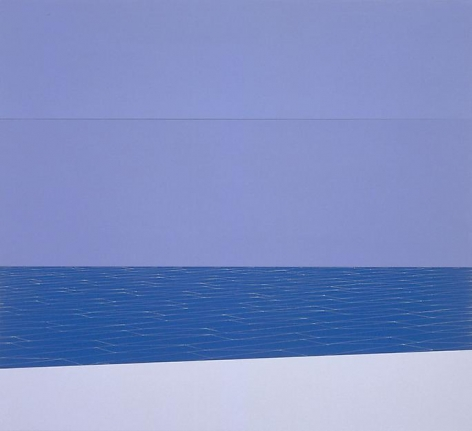 , Sea and Sky (White Boat), 2004