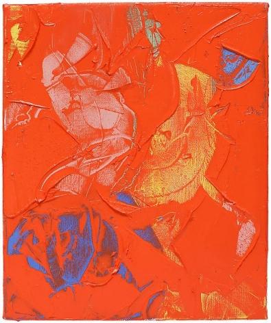 "ALT=""Richard Hoblock, Pingo I, 2012, Oil on canvas"""