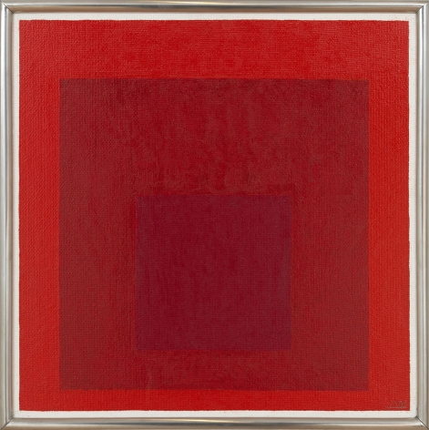 Josef Albers, Study for Homage to the Square: R-l b-3, 1968