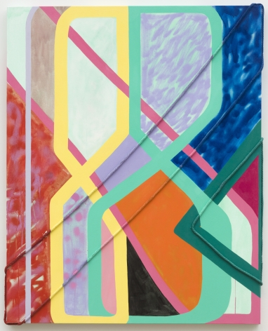 Sarah Cain, painting, a ton of new, 2020, pastel colors, abstract, geometric