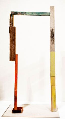 """ALT=""""Jockum Nordström, Untitled, 2013, Cardboard, paper and watercolor"""""""