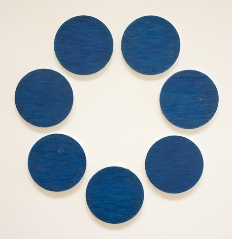 "ALT=""Tony Feher, Untitled, circa 1985, Acrylic on canvas"""