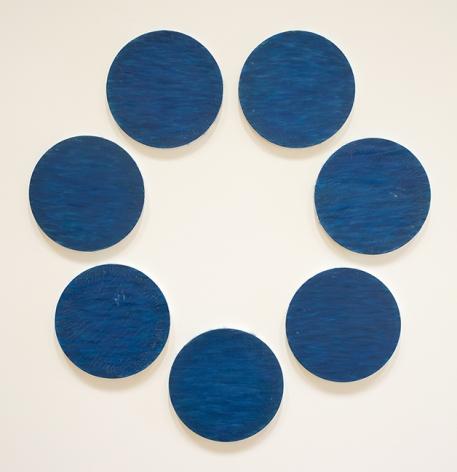 "ALT=""Tony Feher, Untitled, circa 1985, Acrylic on canvas"""