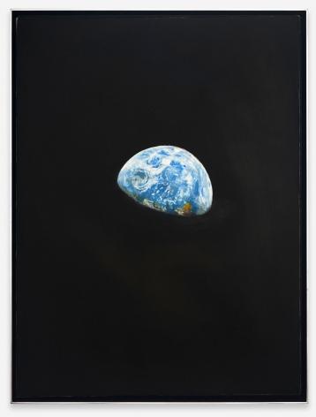 "ALT=""Rob Reynolds, Earthrise 3, 2020, Oil, alkyd and acrylic polymer paint on canvas in welded aluminum artist's frame"""