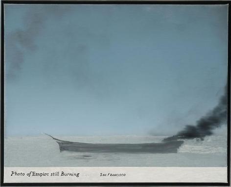 , Untitled (Photo of Empire Still Burning 1), 2011