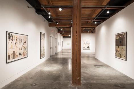 "ALT=""Jockum Nordström, Installation view: ""Jockum Nordström: Why Is Everything A Rag"", 2018,  Contemporary Arts Center, New Orleans, LA"""