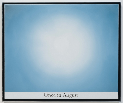 Rob Reynolds, Untitled (staring at the sun 1), 2012, Oil, alkyd and India Ink on canvas, 20 3/4 x 24 3/4 inches