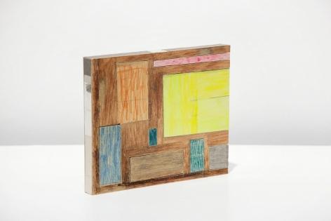 "ALT=""Jockum Nordström, Köksfönster (Kitchen Window), 2013, Cardboard, paper and watercolor"""