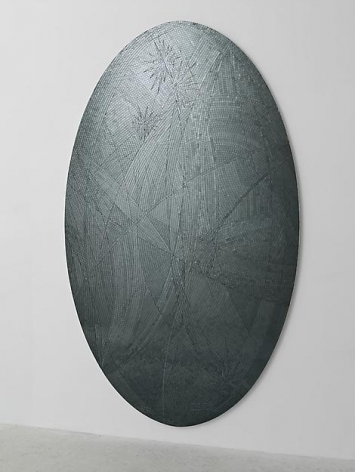 Untitled (grey ellipse), 2013