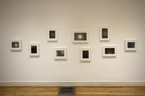 "ALT=""Marsha Cottrell, Installation view of nine works, 2016"""