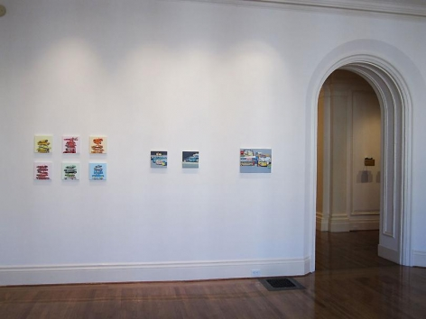 Jeremy Dickinson: New Paintings