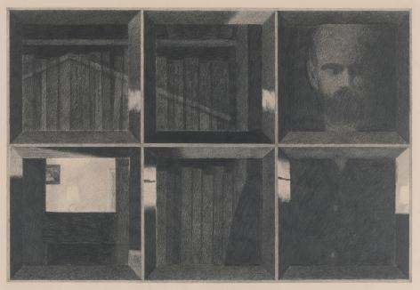 Robert Bechtle, Grove Street [Night], 1965