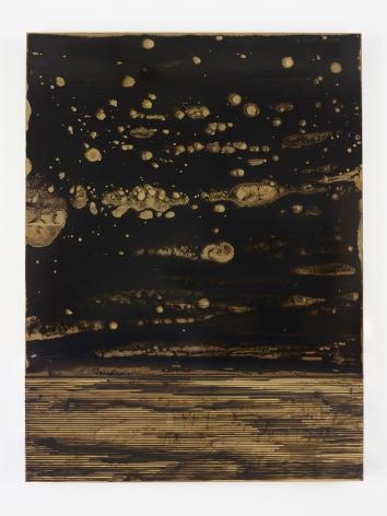 Teresita Fernandez, Golden (Nebula Vertical), 2015