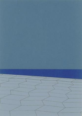 , Moonlight Stairs to Purple Sea, 2004