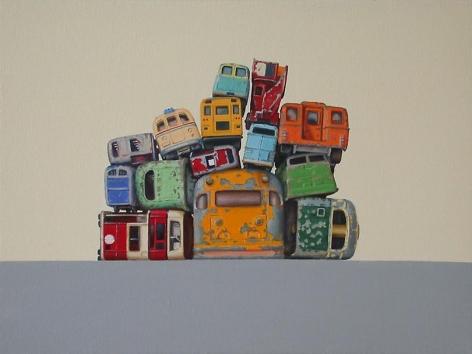 , 14 Bus Rears, 2006