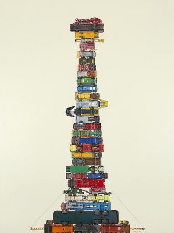 Jeremy Dickinson, Truck Chassis Omnibus Presentation Stack, 2013
