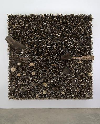 "ALT=""Leonardo Drew, Number 23S, 2012, Wood"""
