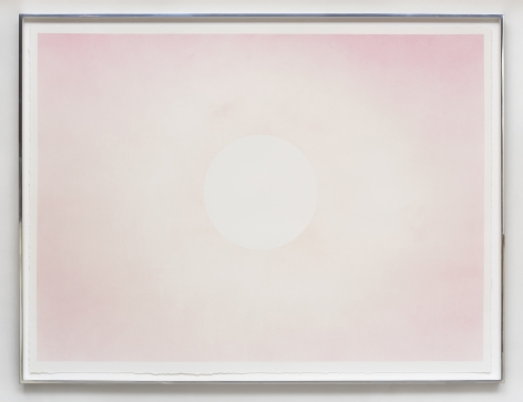 Rob Reynolds,  Holiday, 2016,  Watercolor and gouache on rag paper in artists frame,  36 x 48 inches