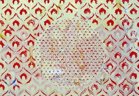 , Round Mirror Green (Study), 2008