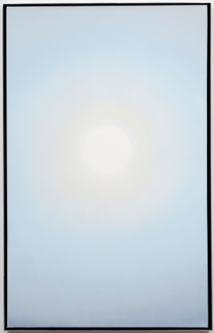 Rob Reynolds  ONE, 2020  Oil, alkyd and acrylic polymer paint on canvas in welded aluminum artist's frame, Framed Dimensions:  48 3/4 x 30 x 2 inches