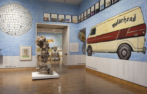 """ALT=""""Dave Muller, Installation VIew: """"Now Where Were We,"""" 2016, Minneapolis Institute of Art, Minneapolis, MN """""""