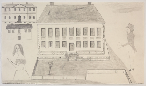 "ALT=""Jockum Nordström, Untitled, 2014, Graphite on paper"""