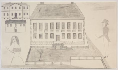 """ALT=""""Jockum Nordström, Untitled, 2014, Graphite on paper"""""""