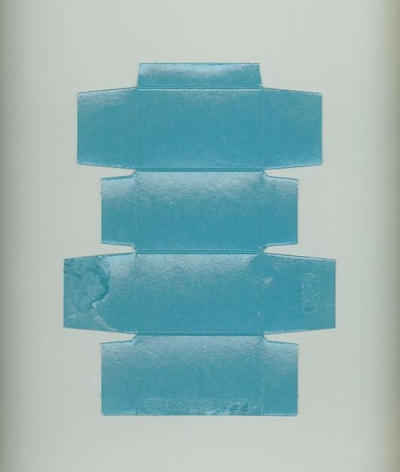 , New Modern Painting #2 (Blue), 2005