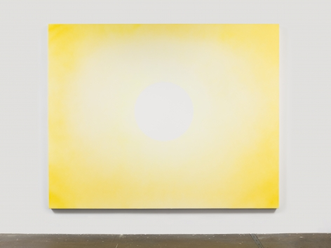 Rob Reynolds,  Sun 1, 2018,  Oil, alkyd and acrylic polymer paint on canvas, 80 x 100 inches