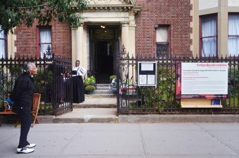 Simone Leigh, Free People's Medical Clinicpart offunkgodjazzandmedicine: Black Radical Brooklyn