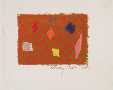 Jeremy Moon, Drawing [70], 1970
