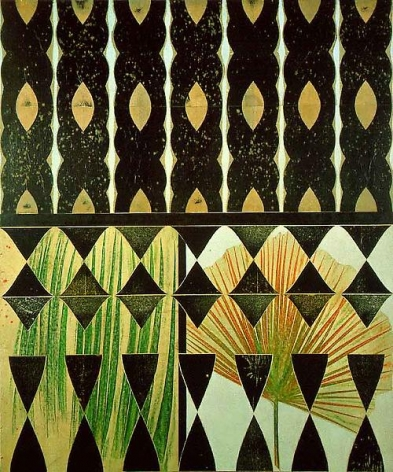 Philip Taaffe Botanical Veil, 1989