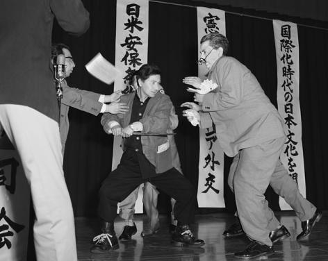 Yasumasa Morimura A Requiem: Asanuma 1, 1960