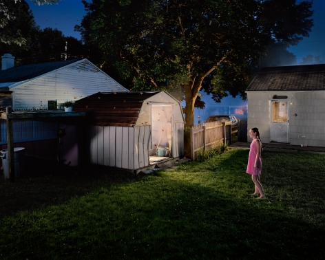 Gregory Crewdson, Untitled (butterflies and shed), 2001-2002