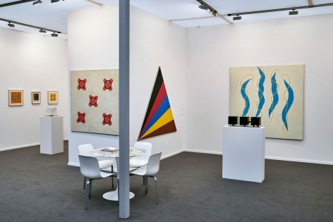 Luhring Augustine, Frieze Masters, Booth C6