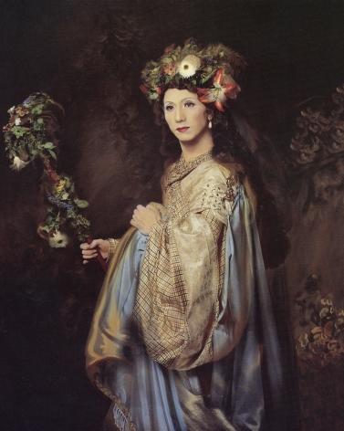 Yasumasa Morimura, Portrait of Rembrandt's Wife, 1994