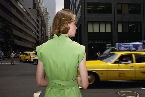 Joel Sternfeld, New York City, (#1), 1976