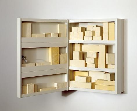Rachel Whiteread Cabinet II, 2006