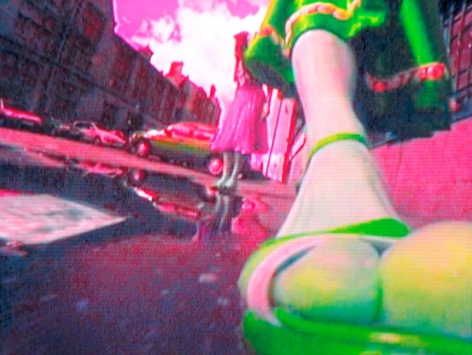 Pipilotti Rist , How Many Steps, 2002