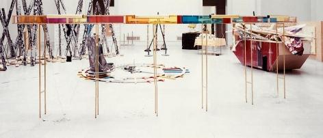 Martin Kippenberger Broken Kilometer, 1990