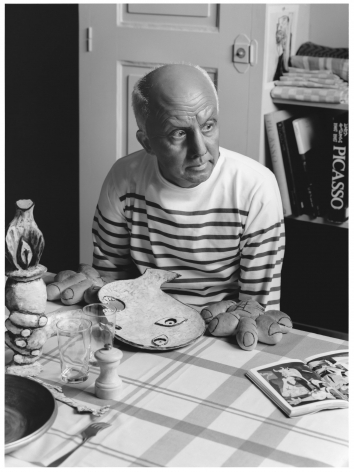 Yasumasa Morimura A Requiem: Theater of Creativity / Self-Portrait as Pablo Picasso, 2010